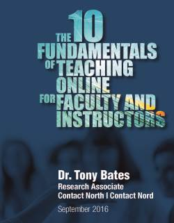 The 10 Fundamentals of Teaching Online