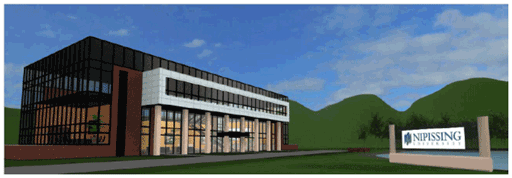 3D Rendered Image of The Harris Learning Library