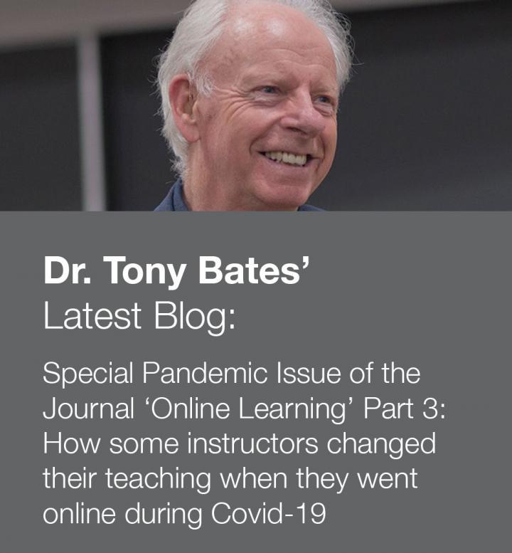 Photo of Dr Tony Bates