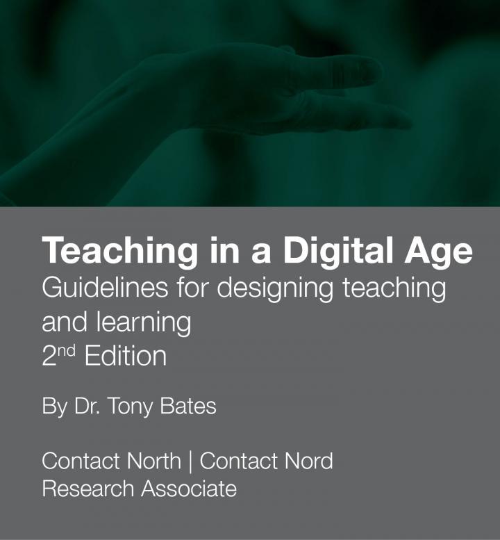 Stock photo promoting Dr. Tony Bates' book