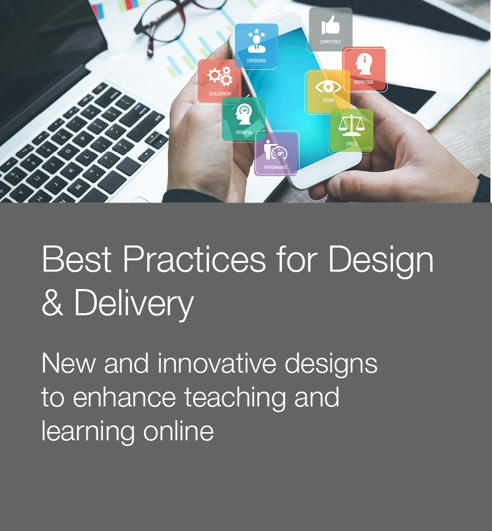 Stock photo to illustrate best practices for design and delivery