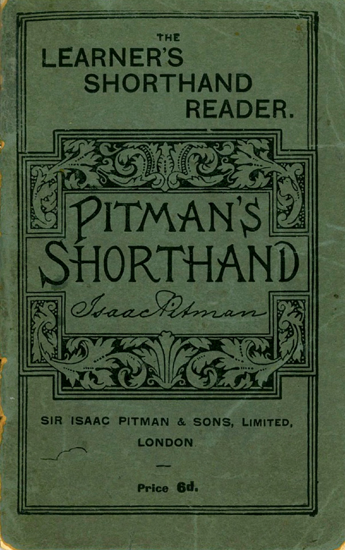 Learner' s Shorthand Reader front cover - Pitman's Shorthand