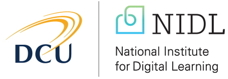 Dublin City University and National Institutes for Digital Learning logos