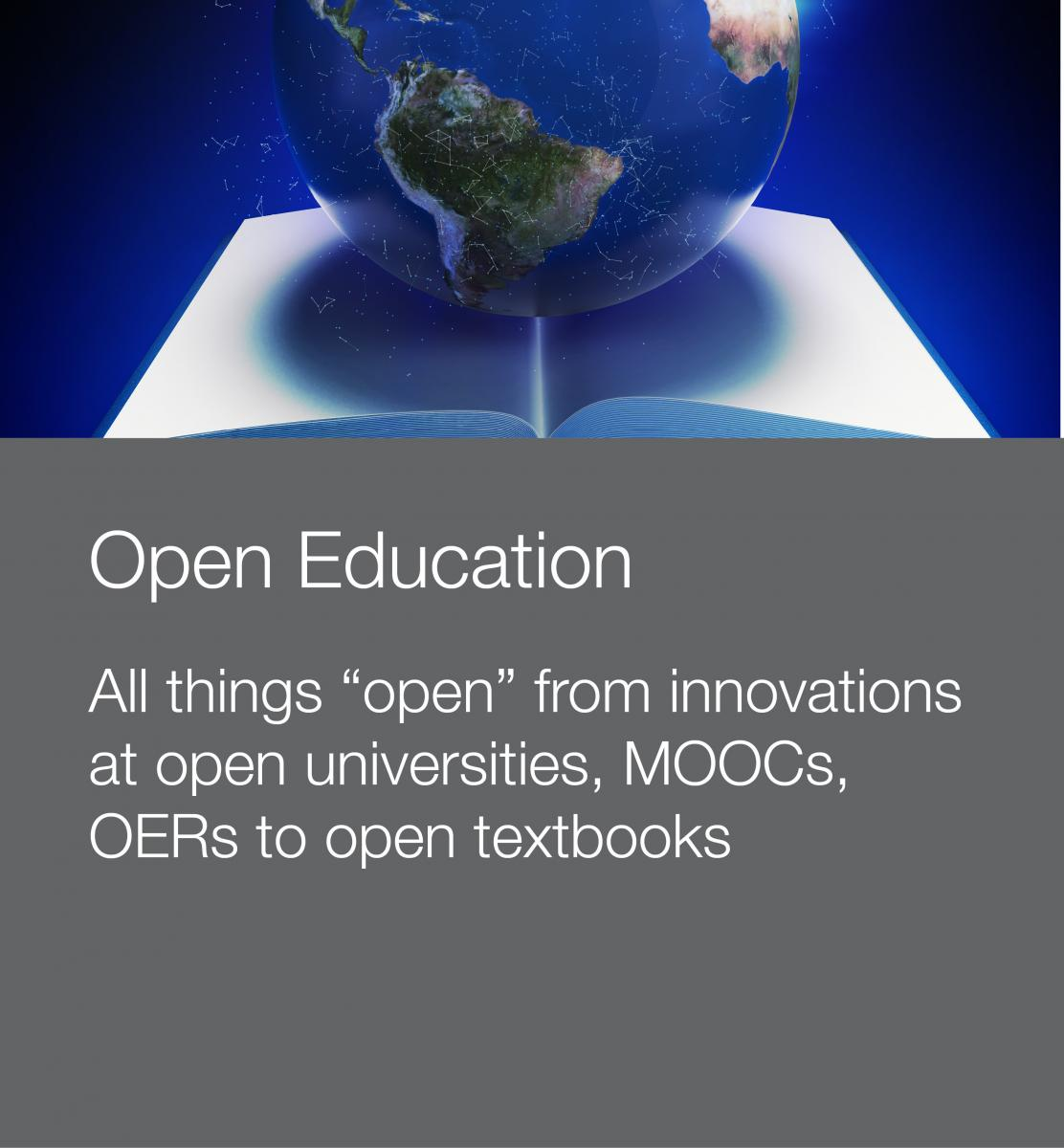 Stock photo to illustrate open education innovations