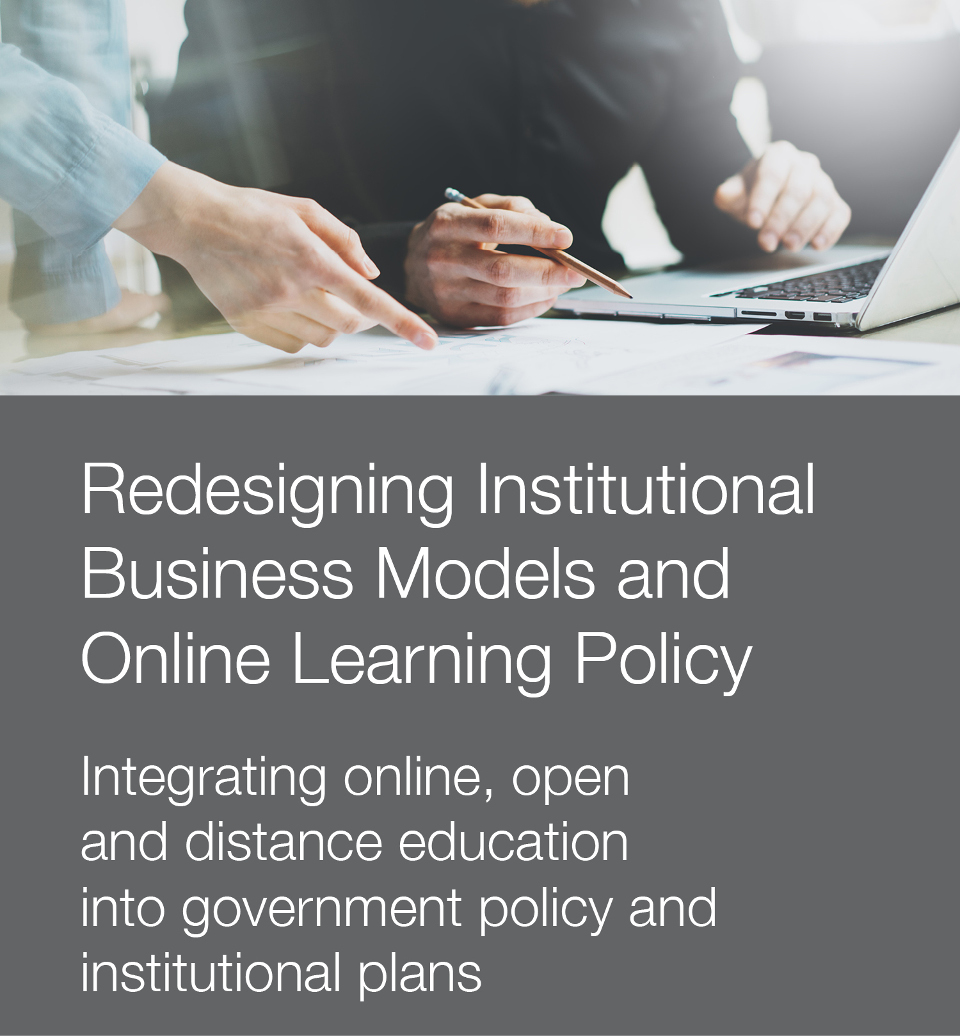 Stock photo to illustrate integration of business models and online learning policy