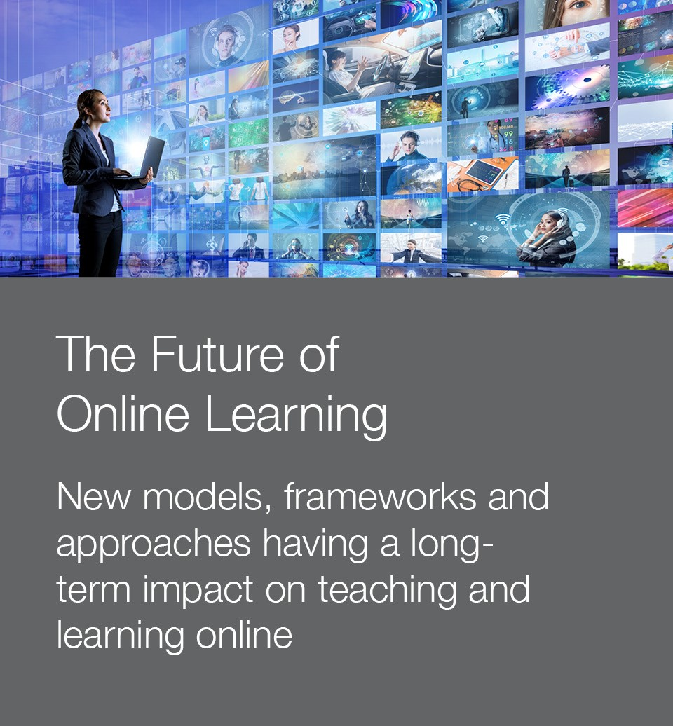 Stock photo to illustrate the future of online learning